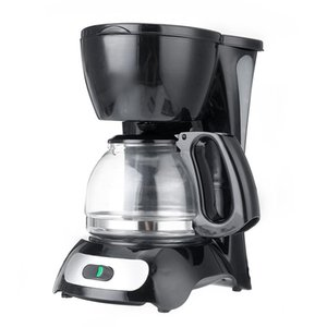 600ml 4-6 Cup Coffee Machine 220V Espresso Drip Coffee Maker With Glass Kettle Filter Anti-Drip Insulation Teapot