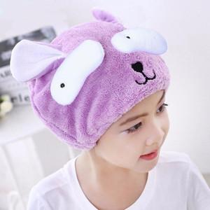 Cute Bear Shower Cap For Women Bath Hair Wrapped Towels Microfiber Shower Hats Bath Caps Quickly Dry Hair Cap Bath Accessoriesweqw