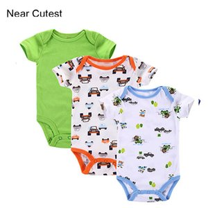 Near Cutest 3pcs lot Baby Set Winter Thick Summer Short Sleeve Baby Girls Boys Clothing Baby Sets 3ps Clothing Set Y1113