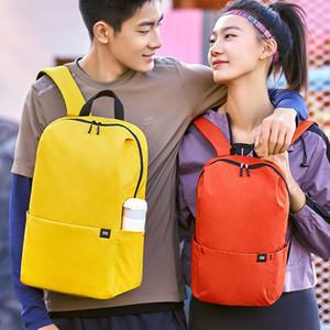 Originale Xiaomi 7L 10LBackpack livelli multipli di colore 4 Water Repellent Borsa a tracolla di viaggio per le donne gli uomini Studente di viaggio di campeggio
