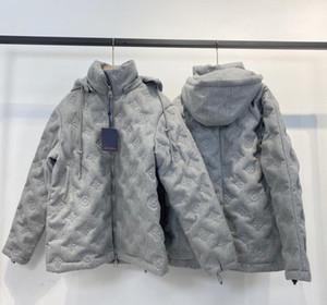hombre diseñadores de ropa con capucha de los hombres bolsillos abrigos diseñadores suéteres ropa de camuflaje carta piloto para hombre de la chaqueta de invierno gris hombres s 02