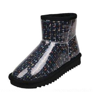 QVAF Sıcak Salewinter Çizmeler Kadınlar Için Ayak Bileği Sürüsü Çizmeler Ayakkabı Antiskid Üzerinde Sıcak Kar Botları Bayanlar Kayma