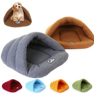 Warm fleece pet sleeping bag pet kennel dog kennel cat large house sleeping mat