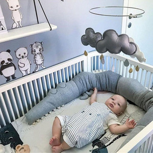 Newborn Bed Paraurti cuscino bambino Bedbumper Crocodile Paraurti Crib Fence Cushion Bedding Tresse De Lit greppia infantile Room Decor 7GaI #