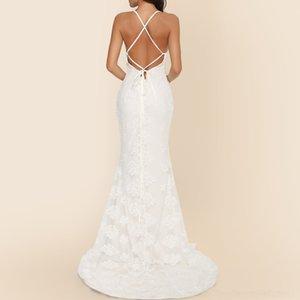 BQBZ Sky Sky Bling Sirena Abiti di cristallo bordatura Prom Abito da sera formale Bling Bling Girls Dress PAGENAT