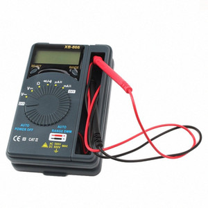 Sıcaklık Süreklilik Testi AC / DC Akım Voltmetre Transistör Tester Digital çok metrelik NM6u # ile HONEYTEK Mini Dijital Multimetre
