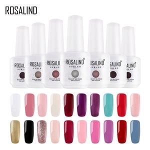 ROSALIND Gel 1S New 15ml Classic Color Gel Nail Polish Set For Nail Extension UV LED Varnishes Hybrid Design Manicure Primer
