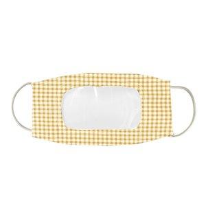 Sıcak Tasarımcı Yüz Maskesi Koruma Sağır Ve Aptal Dudaklar Ile Temizle Pencere Görünür Pamuk Ağız Yüz Maskeleri Yıkanabilir ve Kullanımlık Maske HWC801