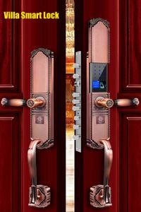 APP Remotely WIFI Door villa Lock Biometric Fingerprint Smart Lock ,Password Keyless Door Lock,Fechadura Digital door