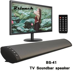 SoundBar BS41 홈 시어터 무선 블루투스 스피커 컴퓨터 TV 사운드 바 원격 제어
