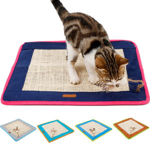 Sisal Cat Scratcher Board Scratching Post Mat Toy Soft Bed Mat Care Pet Toys Protecting Scratching Furniture Post Toys NEW