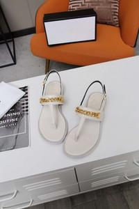 Venda quente - Sandálias femininas Flats Designer Cria alta qualidade Summer Beach As sandálias casuais estão disponíveis em uma variedade de cores VFJLA