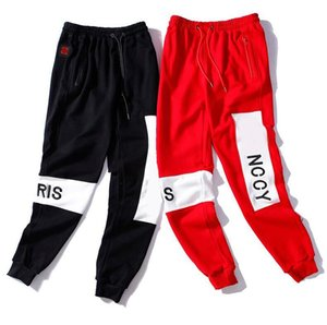 Letters Embroidery Mens Women Track Pant New Fashion Design Jogger Man Woman Couple Cargo Pants Trousers Homme Clothing M-2XL