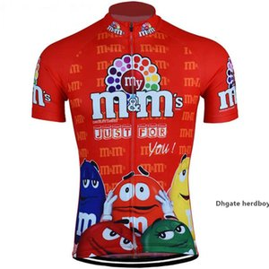 2021 Men M &M &#039 ;S Cycling Jerseys Cool Classic Style Men Bike Wear Short Sleeve Cycling Clothing Mtb Ropa Ciclismo Outdoor Bicycle Cl