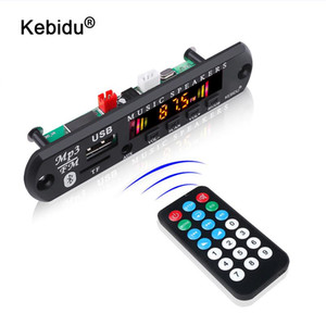 MP3 Player Decoder Board Bluetooth 5.0 Receiver Car Kit Color Screen FM Radio TF USB 3.5 Mm AUX Audio For XS