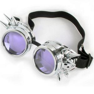 C.F.GOGGLE Homens Mulheres Steampunk Vintage Sun Glasses Kaleidoscope Sunglasses Gothic Goggles Retro Vintage Punk Sunglass Eyewear
