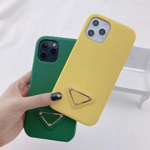 IPhone12 mini case designer padrão de impressão triângulo é adequado para iPhone 12 Pro Max 11 XR XS Max 7/8 Proteção de Telefone Móvel