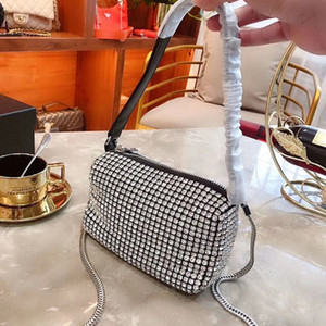 New Pouch Fashion Woman Designer Ladies On Full Handbags Small Ins Rhinestones Evening Clutch Bags Luxury Spark Diamonds Party Fcgpg