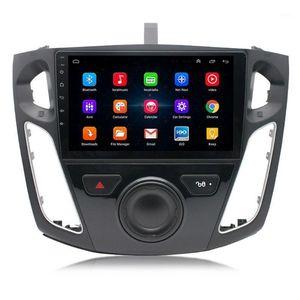 9 pulgadas 2.5D Pantalla Cuádruple 1g 1g Running 16G Memory Car Radio GPS Touch Navigator FM Radio Espejo Enlace WiFi Bluetooth Rueda Y5GF1