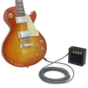 Mini 3 Watt 9V Battery Powered Amp Amplifier Speaker for Acoustic Electric Guitar Ukulele High-Sensitivity with Volume Tone Control