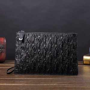 Genuine Leather Men Wallets for Holder Clutch bags Coin Purse Male Long Purses carteira masculina Wristlets handbags