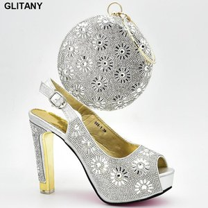 Latest Design Italian Shoes with Matching Bags for Wedding Shoes Woman Designer Women Luxury 2020 High Heels Women Pumps