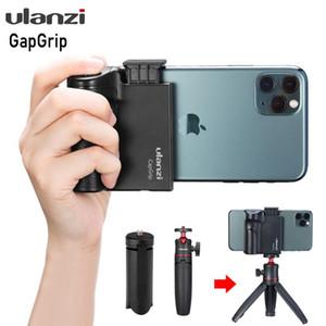 Ulanzi CapGrip Kablosuz Bluetooth Smartphone 1/4 Vida Selfie'nin Kulp Tutma Telefon sabitleyici Adaptör Tutucu Tripod Dağı