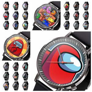 36 Style Among Us Watch Trend Fashion Men's Creative Electronic Student Watches Game Figure Model Birthday Gift DHL