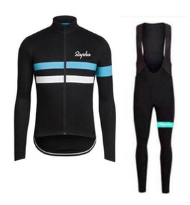 2019 equipa Rapha SIDI camisa de ciclismo mangas compridas (bib) calças sets mens ropa secagem rápida ciclismo roupa BTT corrida desgaste uumall