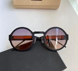 2234 signore di marca occhiali da sole rotondi occhiali da sole full-frame lettere sono fatte del popolare ultra-sottile in lega di titanio full-frame, contenitore di regalo libero