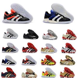 Hommes Soccer Tarcles Predator Accelerator Electricité FG TR Chaussures de football Predator Precision FG X Beckham Turf Bottes de football intérieur Nouveau