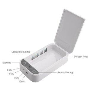 Adaptateur Box 99 Uv stérilisateur Stérilisateur Pour .9 Watch Phone Usb Bijoux Masque% mobile Tué cas Adaptateur Box Stériliser Cojj