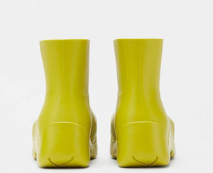 luxurys desiFashion botas pé fábrica mulheres desgaste chuva de neve fora sapatos porta bootsies botas mulheres sapatos de grife botas de grife tamanho grande