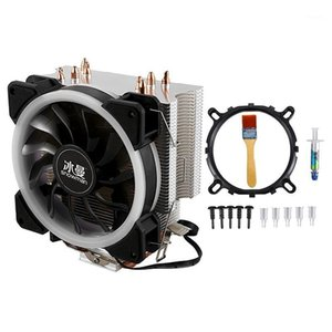 SNOWMAN CPU Cooling System Direct Contact CPU Cooler Master Heat Pipes Freeze Tower Cooling RGB Fan with PWM Fans1