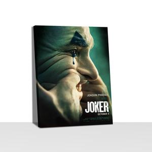 Joker Movie Posters Picture Recados Poster Impressão em tela Estilo Modern Art Pintura Corredor Sala Único Decoração