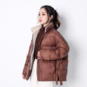 2020 женский дизайнер утолщенная куртка женская осень и зима короткая пальто мода пуховая куртка для wmet1