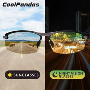 CoolPandas Intelligent Photochromic Sonnenbrille Männer polarisierten Chamäleon Frauen Brille Fahren Sonnenbrillen zonnebril heren