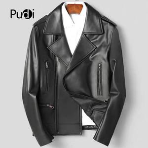 Pudi MT930 Nuove giacche mens e cappotti giacche di pelle di pecora genuino corto per il tempo libero outwear vera pelle