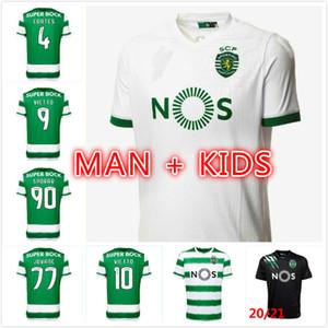 Новые 20 21 Sporting CP Lissabon Soccer Jersey Phellype 2020 2021 Fernandes Dost Vietto Coates Acuna Jovane футбольная футболка
