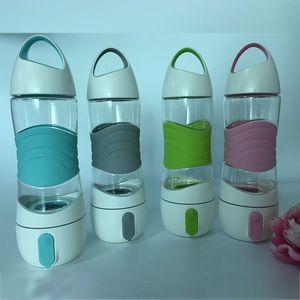 Didi recuerdan a beber botella de agua LED Taza de deporte al aire libre Taza para Spay Hidratante Luz Noche SOS Hervidor de emergencia WX9-232