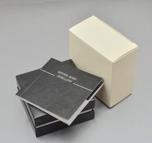 luxo camisa dos homens Abotoaduras Caixa com logotipo de jóias de design exclusivo Abotoaduras caixa de presente perfeito jogo caixa Abotoaduras