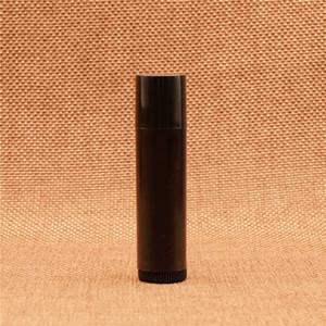 5ml Black Plastic Handmade Lipstick Cream Tube DIY Lip Oil Bottle Empty Batom Holder Container Free Shipping