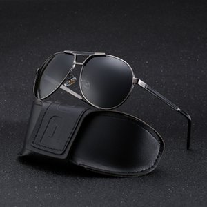 Men Vintage Aluminum Polarized Sunglasses Classic Brand Sun Coating Lens Driving glasses Eyewear For Men Women