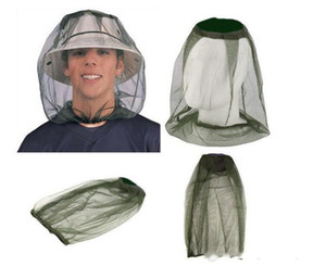 Anti-mosquito Cap Travel Camping Hedging Lightweight Midge Mosquito Insect Hat Bug Mesh Head Net Face Protector