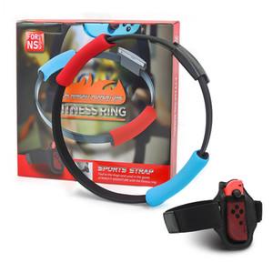 Fitness-Ring-Haupt Übungs-Bänder für Ringfit Abenteuer Schalter Nes NS Spiele Sportgurte mit verstellbaren Eastic Beine Gürtel