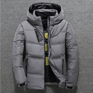 Winter Warm Down Jackets Men Casual Puffer Thick Hat White Duck Down Parkas Male High Quality Stand Collar Hooded Mens05