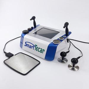 ديب التدفئة تردد الراديو العلاج الطبيعي Tecar معدات العلاج RET CET مقبض لتخفيف الألم / terapia tecar