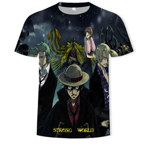 A universe shirt man Harajuku cartoon 2020 hip Japan hop cartoon T-shirt 90s funny Luffy Zoro Sanji graphic fashion T-shirt