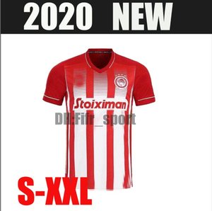 20 21 Olympiacos F.C. soccer jersey home away Football shirt 2020 2021 Greece home red Short Sleeve football shirt size S-XXL