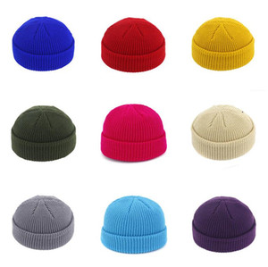 Winter Skull Caps beanies Mens knitted Hat Men Women beanie Solid Cap lovers boys girls street hats Fashion accessories Wholesale hot